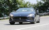 Maserati GranCabrio front end