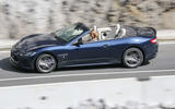 Maserati GranCabrio side profile