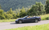 Maserati GranCabrio on the road