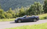 Maserati GranCabrio on the road