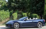 Maserati GranCabrio roof down