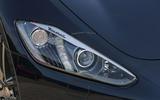 Maserati GranCabrio headlights