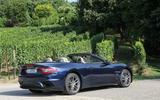 Maserati GranCabrio rear quarter
