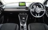 Mazda 2 GT dashboard