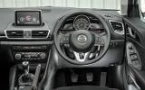 Mazda 3 Sport Black dashboard