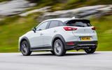 Mazda CX-3 GT Sport rear cornering
