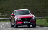 Mazda CX-5 hard cornering
