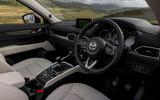 Mazda CX-5 driver's seat view