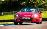 Mazda MX-5 cornering