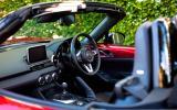 Mazda MX-5 front seats