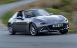 Mazda MX-5 RF 2018 Uk first drive review hero front