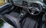 Mazda MX-5 RF 2018 Uk first drive review interior