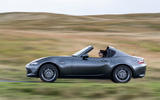 Mazda MX-5 RF 2018 Uk first drive review otr side