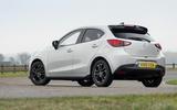 Mazda 2 Sport Black static rear