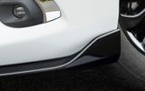 Mazda 2 Sport Black front splitter