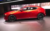 Mazda 3 2018 official reveal - LA show floor static side