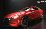 Mazda3 2018 LA Show official reveal - stand photo
