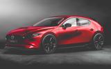 Mazda3 MPS rendering