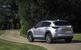 Mazda CX-5 2020 update rear side corner