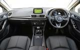 Mazda 3 dashboard