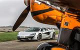 McLaren 540C driven