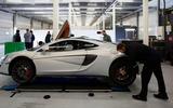 McLaren 570GT being prepped