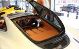 McLaren 570GT hatch opening