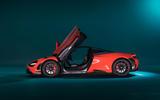 2020 McLaren 765LT - doors open