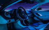 McLaren GT interior dark shot