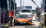 McLaren Senna 2018 UK first drive review border crossing
