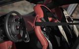 McLaren 570GT sport seats