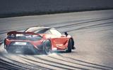2020 McLaren 765LT - rear drifting