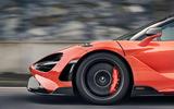 2020 McLaren 765LT - front wheel