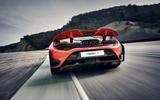 2020 McLaren 765LT - rear