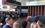 McLaren 765LT reveal - crowd