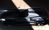 McLaren open-top speedster render - side