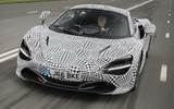 McLaren three-seat hyper-GT development mule first pictures
