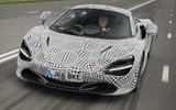 McLaren three-seat hyper-GT development mule first pictures