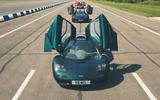 McLaren generations - doors open