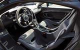 McLaren generations - P1 cabin