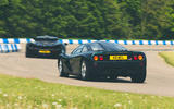 McLaren generations - F1 chasing P1 rear