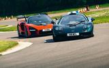 McLaren generations - Senna chasing F1