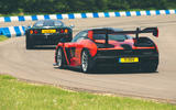 McLaren generations - Senna chasing F1 rear