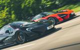McLaren generations - P1 meets Senna front