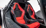 McLaren Sabre seats