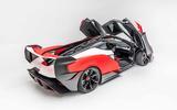 McLaren Sabre doors