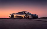 2020 McLaren Speedtail testing at Kennedy Space Centre
