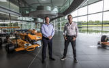 McLaren XE Zak Brown Alejandro Agag