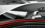 Active rear wing aids the P14's aero efficiency