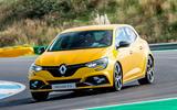 Renault Megane RS Trophy cornering